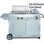 STEELMAN STAINLESS DELUXE BBQ