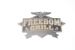 FREEDOM100 - BADGE WITH LOGO