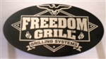 Freedom 50 Logo Badge